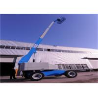 China Appearance Beautiful Aerial Boom Lift , Aerial Platform Lift 48V Power Source on sale
