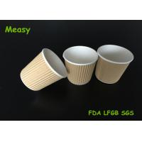 Wholesale 4Oz Disposable Kraft eco friendly disposable cups For Starbuck Cofe Shop from china suppliers