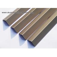Wholesale Matt Champagne Square V - Shaped Angle Aluminum Corner Brace With 20mm Edge V20 from china suppliers