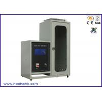 Wholesale JIS-1091 Flammability Test Apparatus Textile Vertical 220V 50HZ 40mm Flame Height from china suppliers