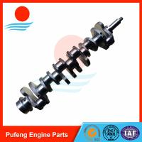 Wholesale Mitsubishi diesel engine spare parts 6D34 6D34T forged crankshaft ME300086 for KATO from china suppliers