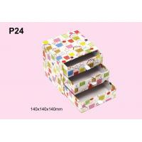 Wholesale Personalized Colorful Offset Printing Paper Gift Storage Box With Three Drawer from china suppliers