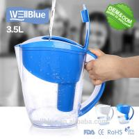 China Healthy Colorful Plastic Brita Classic Water Pitcher Alkaline Water Mineral Jug for sale