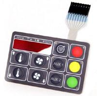 Wholesale OEM popular and waterproof silicone keypad used for learning machine from china suppliers