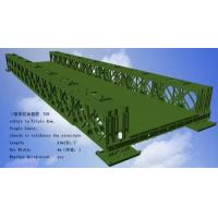 Wholesale Corrosion Resistance Modular Steel Bridges TS Triple Single Type Bailey Bridge from china suppliers