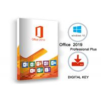 China Office 2019 Professional Plus License Key for sale