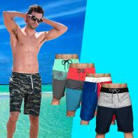 China Fashion Custom Beach Shorts Pocket 4 Way Stretch Nontoxic Material Unisex for sale