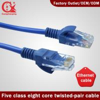 Wholesale High Speed Connectivity Cat5 RJ45 ethernet network cable from china suppliers