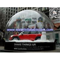 Quality Snow Globe Inflatable Bubble Tent Trade Show , Adverting Transparent Bubble Dome Tent for sale