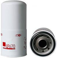 Auto parts oil filter Brand new Engine parts Truck Lube Spin On Oil Filter LF670 for sale