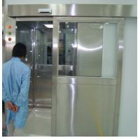 Wholesale ISO 7 Energy Efficient Stainless Steel Air Shower Room With Automatic Slid Door from china suppliers