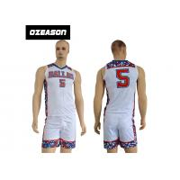Wholesale Factory Price 100% Polyester New Model Sports Baskrtball Uniform For Men from china suppliers