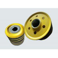 China Stainless Steel Overhead Crane Parts Steel Rope Crane Lifting Pulleys on sale