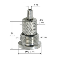 Buy cheap Brass / Stainless Steel Wire Gripper For Ceiling And Hanging Fixture YW86081 from wholesalers