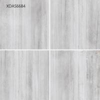 Wholesale 600*600*10MM Gray Glazed Porcelain Tile For Kitchen Floor Corridor Floor  Cement Straight Line Pattern from china suppliers