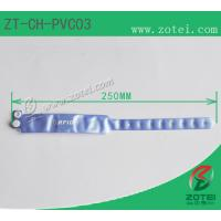 Wholesale RFID one-time PVC wristband tag (LF/HF/UHF, Product Type:ZT-CH-PVC03) from china suppliers