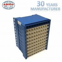 Quality High Density MDF Main Distribution Frame Horizontal Type With 100 Pairs Capacity for sale