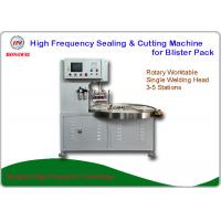 China HF Welding Rotary Blister Packing Machine 27.12 MHz For Double Plastic Film Welding on sale