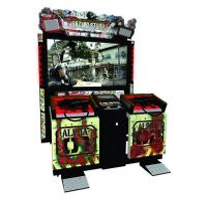 Wholesale 2 People Upright Arcade Machine , 300 Watt Large Multi Game Arcade Machine from china suppliers