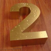 China 3D Channel Letter, LED Channel Letter with Trim Cap on sale