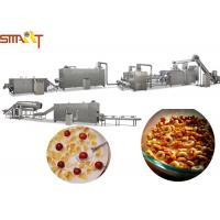 China Breakfast Cereals Extruder Machines , Corn Flakes Production Line CE Certificated for sale