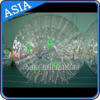 China Fun Inflatable Color Dots Zorb Ball Crazy Giant Hamster Ball on sale