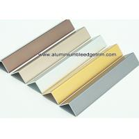 Wholesale Durable Anodized Brushed Aluminium Corner Protectors For Walls 1.5mm Thickness from china suppliers