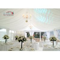 Wholesale Aluminum Beautiful Luxury Wedding Tents / 1000 Person Tent Large Capacity from china suppliers