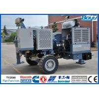 High Voltage Electrical Cable Stringing Equipment for OPGW ADSS Conductor Stringing