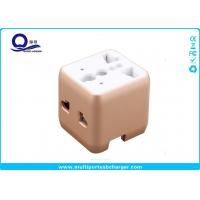 Wholesale Mini Portable 220 Volt To 110 Volt USB Travel Adapater Converter OEM Logo Printing from china suppliers