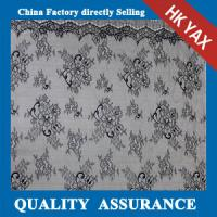 Wholesale YAX China supplier wholesale High quality Best selling white 100% nylon light lace fabric for apparel from china suppliers