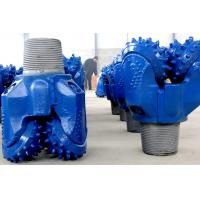 China Water Well Drilling News Blue Durable TCI Tricone Drill Bit , Rock Cone Drill Bits on sale