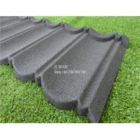 Wholesale Fireproof Stone Chips Coated Step Metal Roof Tile , Aluminium Zinc Roofing Tile Color Roof from china suppliers