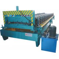 Best Thickness 0.3 - 0.7mm Roofing Sheet Making Machine Working Speed 0 - 20 M / Min wholesale