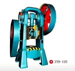 High Precision Semiautomatic Forging Press Machine , Hydraulic Press Machine Cold Stamping Process
