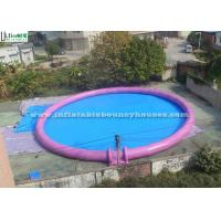 Wholesale Giant Round Inflatable Swimming Pool For Kids N Adults Water Parks Fun from china suppliers