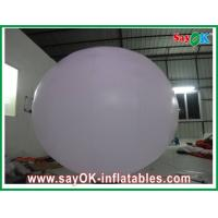 Wholesale 2 meter Inflatable Lighting Decoration , Inflatable Light Balloon with Ground Ball from china suppliers