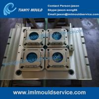 Wholesale plastic thin wall moulding with iml labels, thin Wall Plastic Mold with in mold labeling from china suppliers