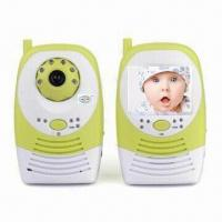 China 2.4G Wireless recordable baby monitor on sale