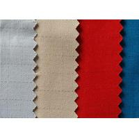 High Density Anti Static Fabric Poly Cotton Conductive Fabric Strong Resistance for sale