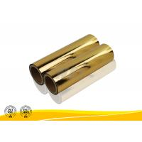 Quality Fashional Moisture Proof Gold Silver Polyester Film SGS ISO14001 Certification for sale