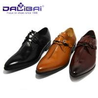 Wholesale Crocodile Luxury Genuine Leather Dress Shoes For Wedding Or Office from china suppliers