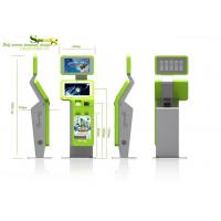 Wholesale Retail / Ordering / Payment Self service Waterproof Lobby Kiosk with Fingerprint Reader from china suppliers