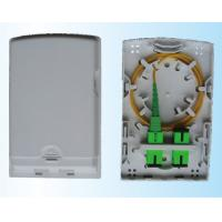 Wholesale Single & Multi Mode 4 Cores Fiber Access Terminal Wall Outlet 86 Type130×84×24mm from china suppliers