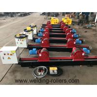 Wholesale Lead Screw Pipe Welding Rotator Rubber And Steel Wheel Welding Roller Beds 20T Load Capacity from china suppliers