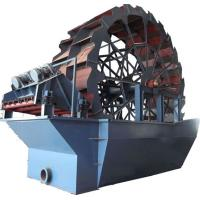Wholesale high efficient sand washing machine(wheel type) from china suppliers