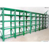 China Custom Steel Long Span Racking System Garage Storage Shelving RAL System Color for sale