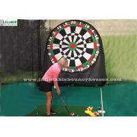 Wholesale Kids And Adults Giant Inflatable Golf Dart Boards With Velcro Balls from china suppliers