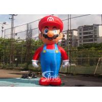 Wholesale 5m High Advertising Big Inflatable Super Mario For Promotion Activities From Guangzhou Inflatables from china suppliers