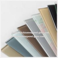 Wholesale Silk Screen Printing Various Color Tempered Glass Splash Back from china suppliers